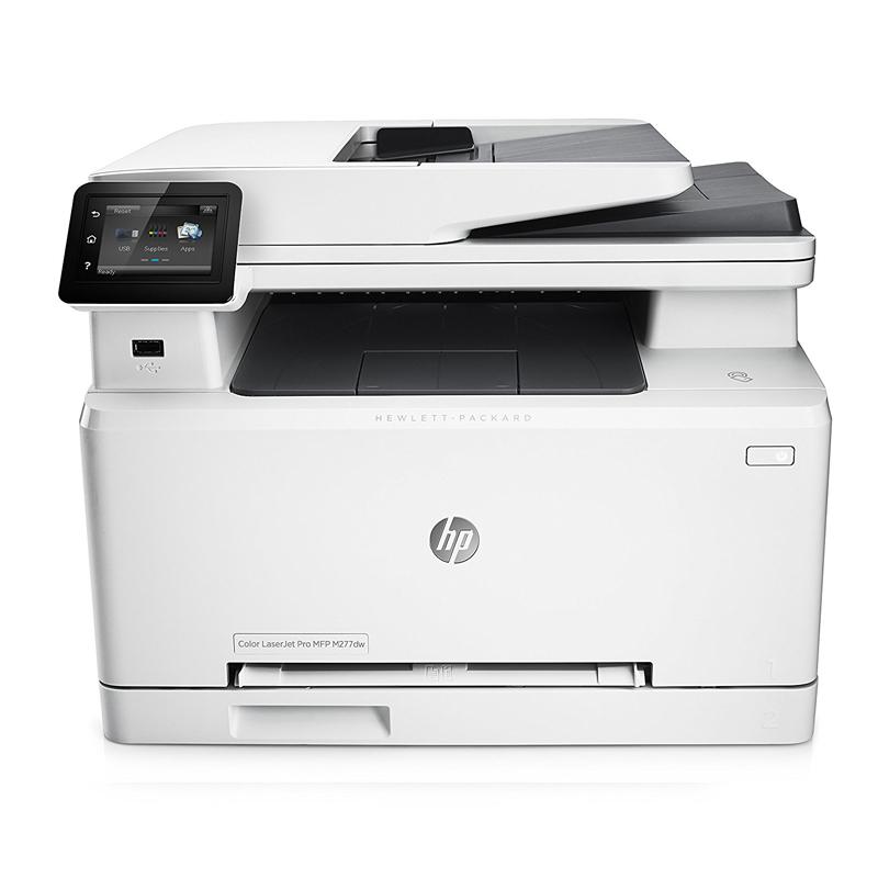 惠普(HP)M277dw彩色激光A4打印机一体机复印扫描传真