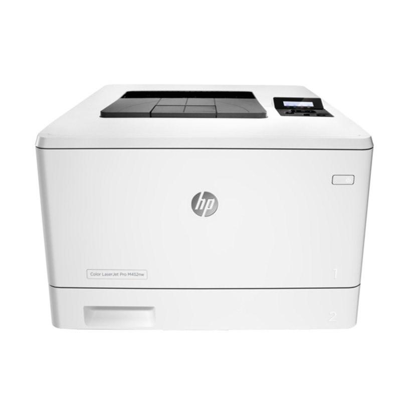 惠普M452NW 彩色激光打印机A4无线网络wifi商用高速