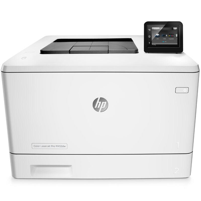惠普(HP)M452dw 彩色激光打印机 无线打印 自动双面
