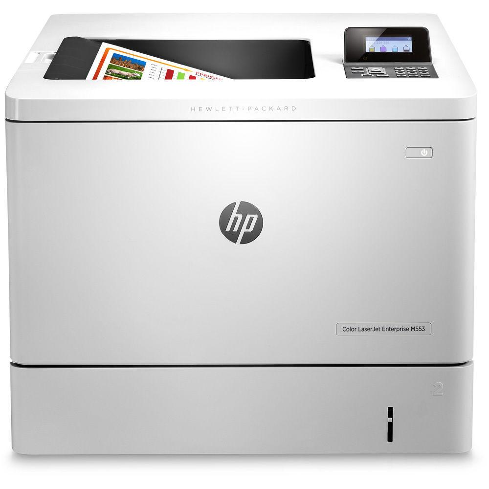 惠普HP COLOR M553DN 彩色激光打印机网络打印