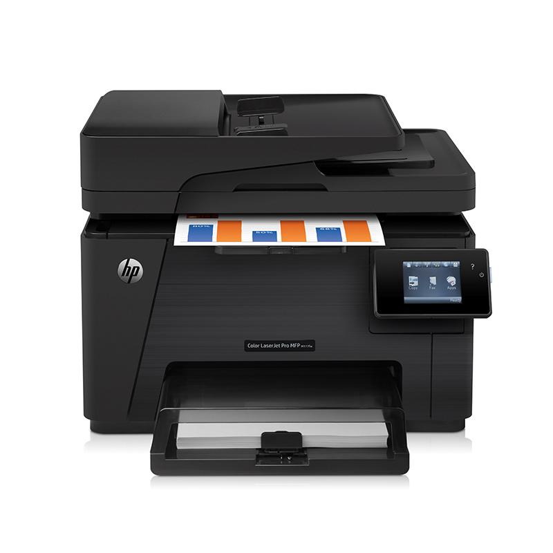 惠普(HP) Pro MFP M177fw 彩色激光一体机